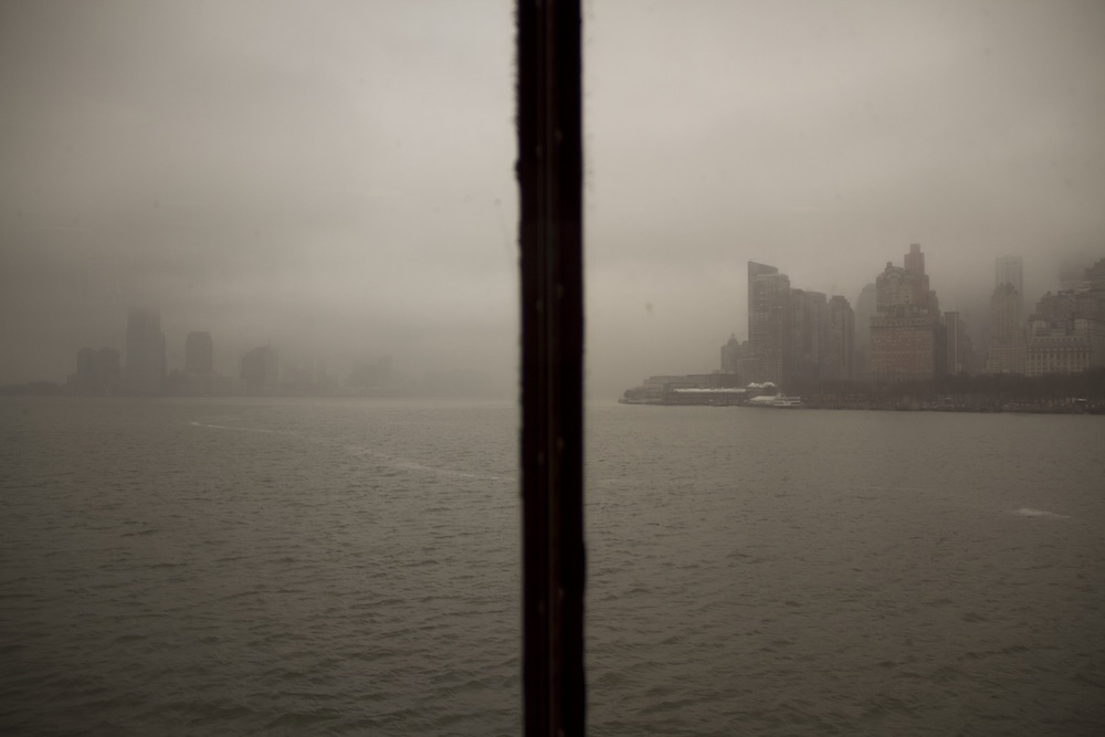 25. looking forward, free ferry ride to staten island